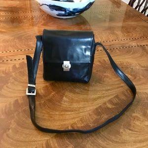 Perlina Leather Crossbody